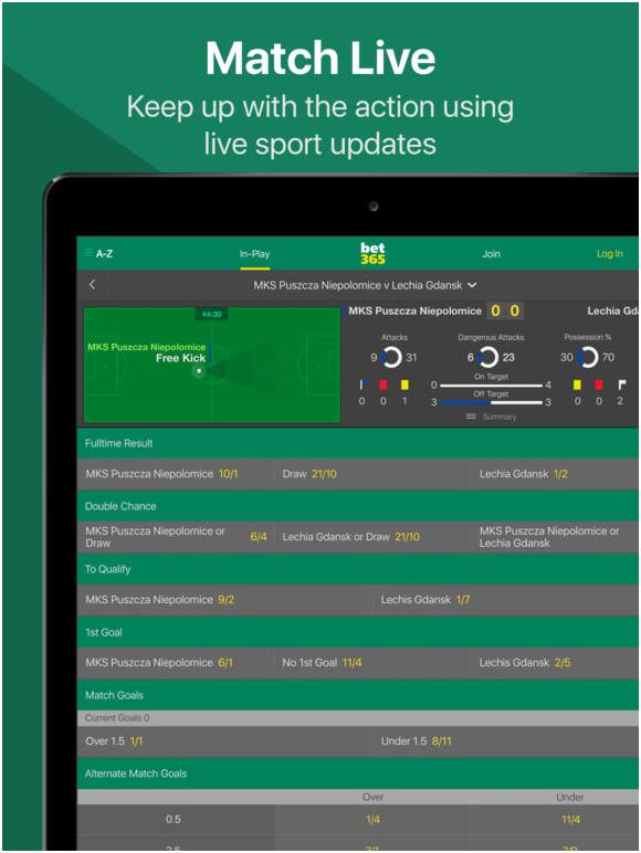 Bet365 sports bet