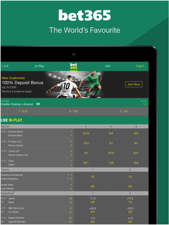 Bet 365 sports book online