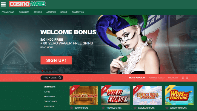 $1400 Welcome Bonus - Play Today
