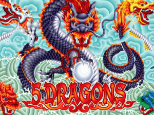 5 Dragons pokies