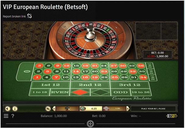7 Reels Casino - VIP European Roulette