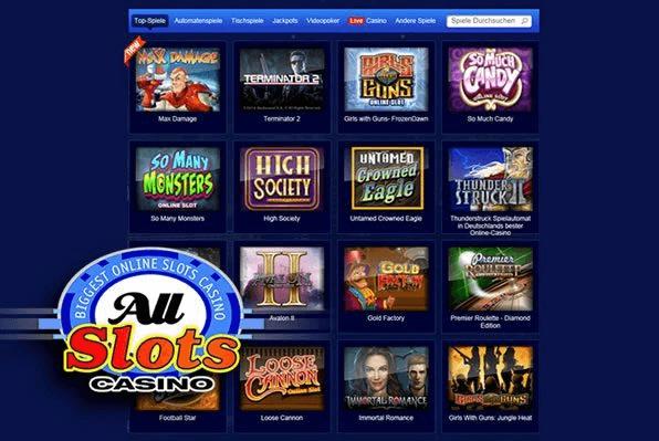 All slots casino fun