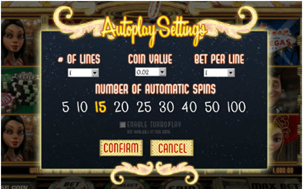 Kinds of Auto play feature in online video pokies at casinos