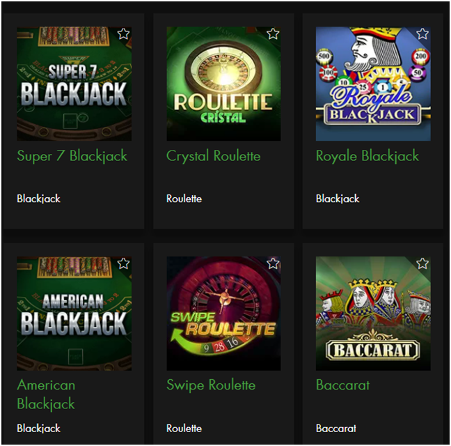 Baccarat at online casinos