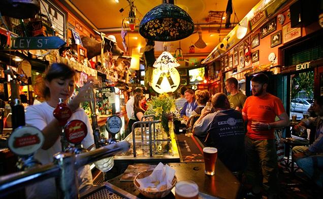 Bars and Pubs Australia