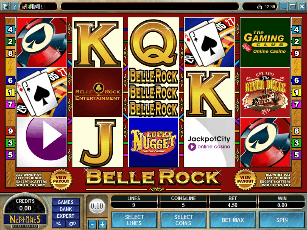 Belle Rock pokies- Symbol