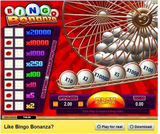 Bingo Bonanza Multipliers