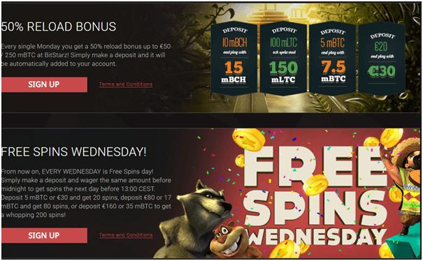 Bitstarz online casino bonus offers