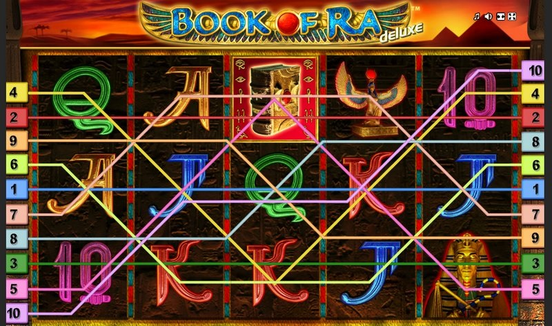 Book of ra pokies - paylines