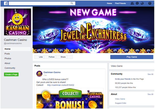 Social media games to play online