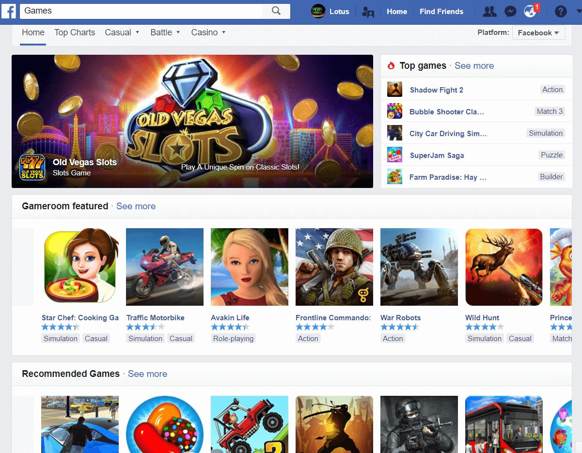 Facebook Pokies