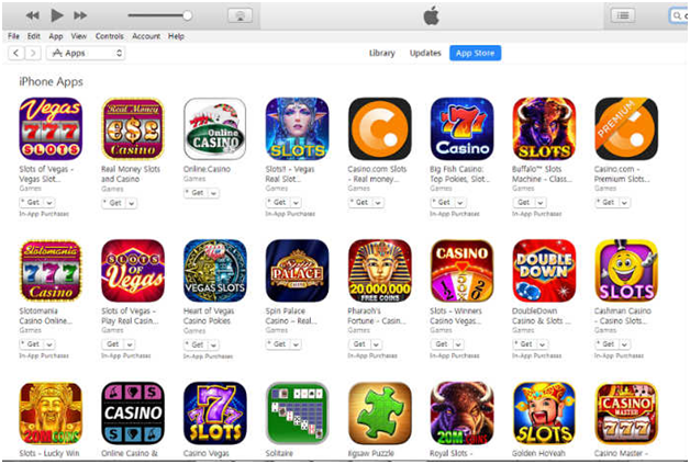 How to play free game apps online at app stores?