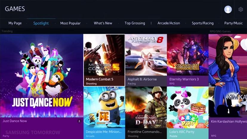 Games on Smart TV
