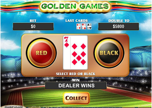 Olympic gamble feature in Golden Games
