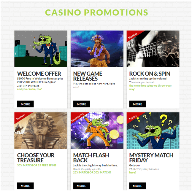 House of Jack - Online casino- Bonuses