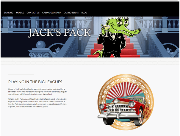House of Jack - Online casino- VIP
