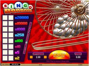 How to play Bingo Bonanza