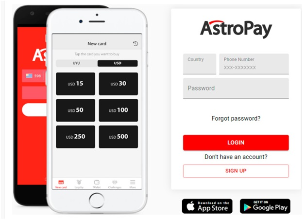 How to make a deposit with Astropay