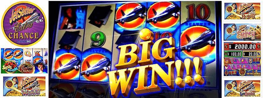 The JetSetter poker machine and how do I win the mega jackpot