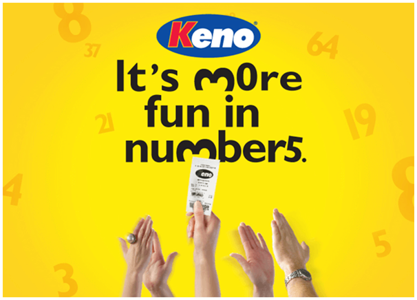 Keno a game of chance
