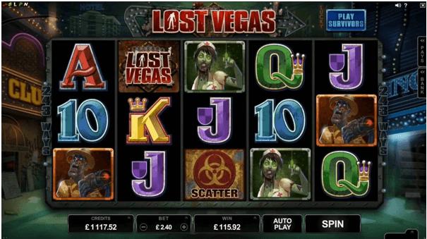 Lost Vegas pokies