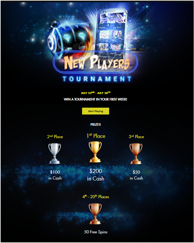 New player pokies tournament