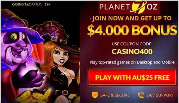 Planet 7 Australian casino