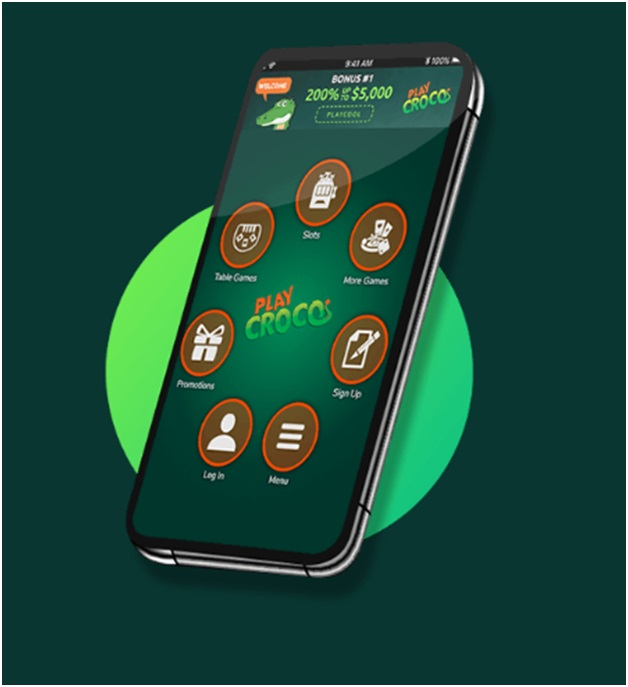 Play Croco Casino Mobile