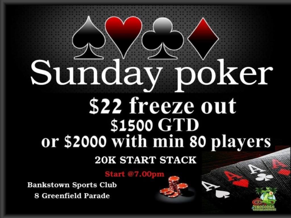 Poker Jackpots at Bankstown sports