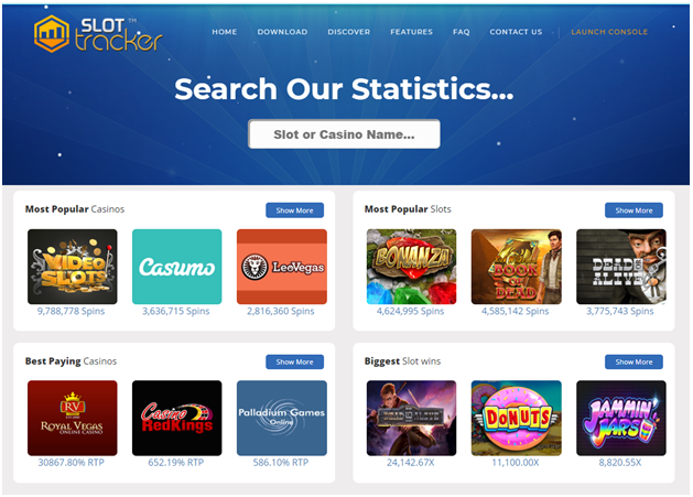 Slot tracker tracks your casino and pokies game play