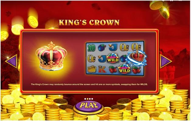 Reel King Mega game - Kings Crown