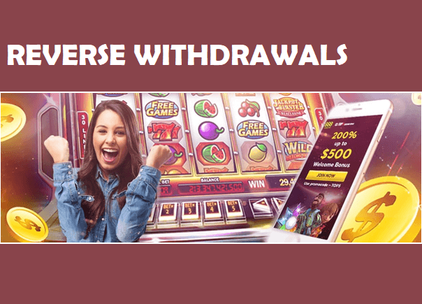 Reverse withdrawal option