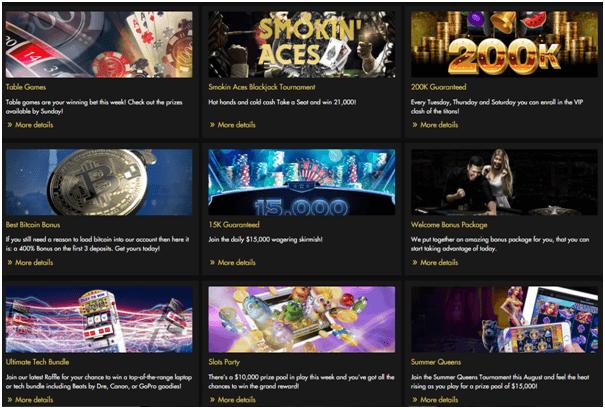 Rich Casino Bonuses