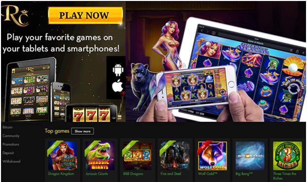Rich casino Mobile AUD