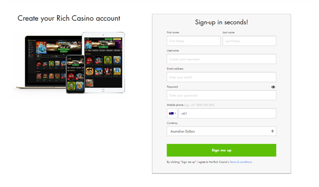 Rich casino pokies to play- Join Now- Register