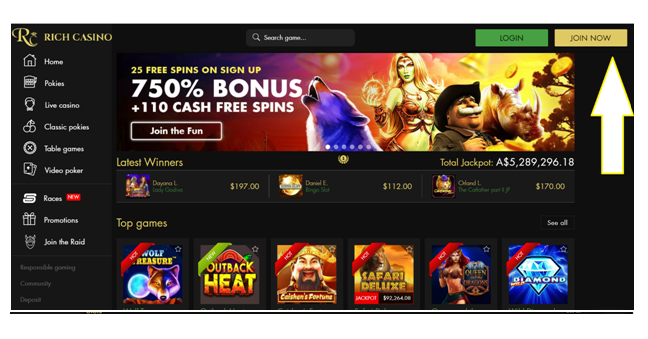 Rich casino pokies to play- Join Now