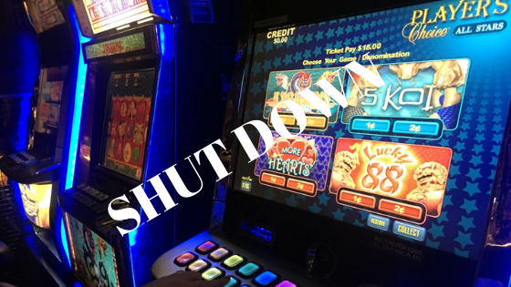 Why some online casinos shut down and stop accepting players?