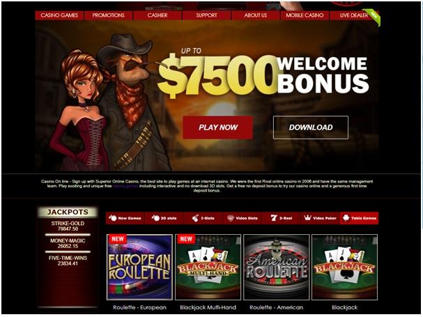 Superior Casino - European Roulette