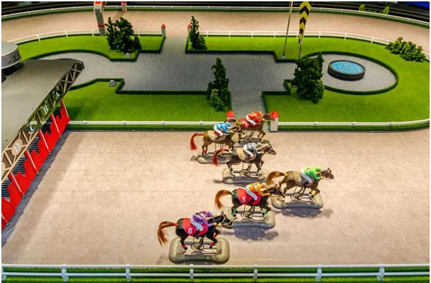 Virtual horse races betting options