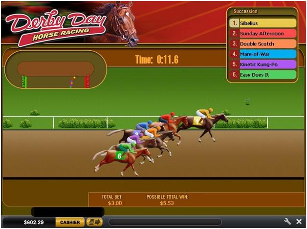 Virtual racing games at online casinos