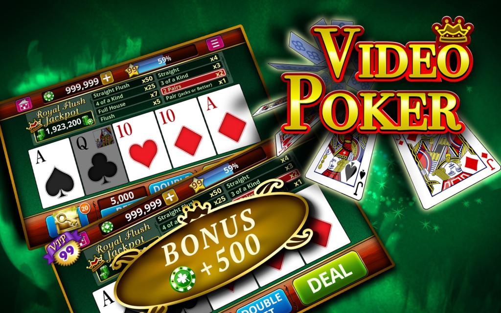 video poker online casinos